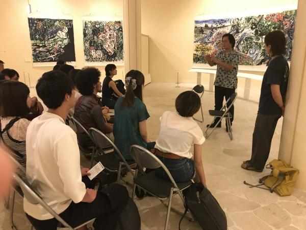 [ようこそ美術館へ]早稲田大学文化構想学部のみなさん。…