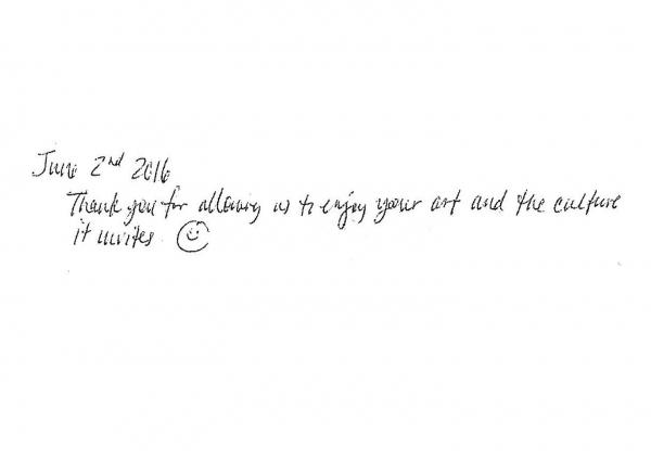 [ようこそ美術館へ]Dear BOKUNEN…